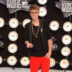 Justin Bieber en los MTV Video Music Awards 2011