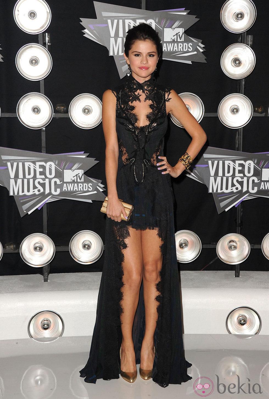 Selena Gomez en los MTV Video Music Awards 2011