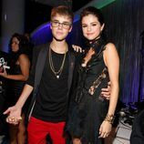 Justin Bieber y Selena Gomez en los MTV Video Music Awards 2011