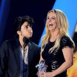 Lady Gaga y Britney Spears en los MTV Video Music Awards 2011