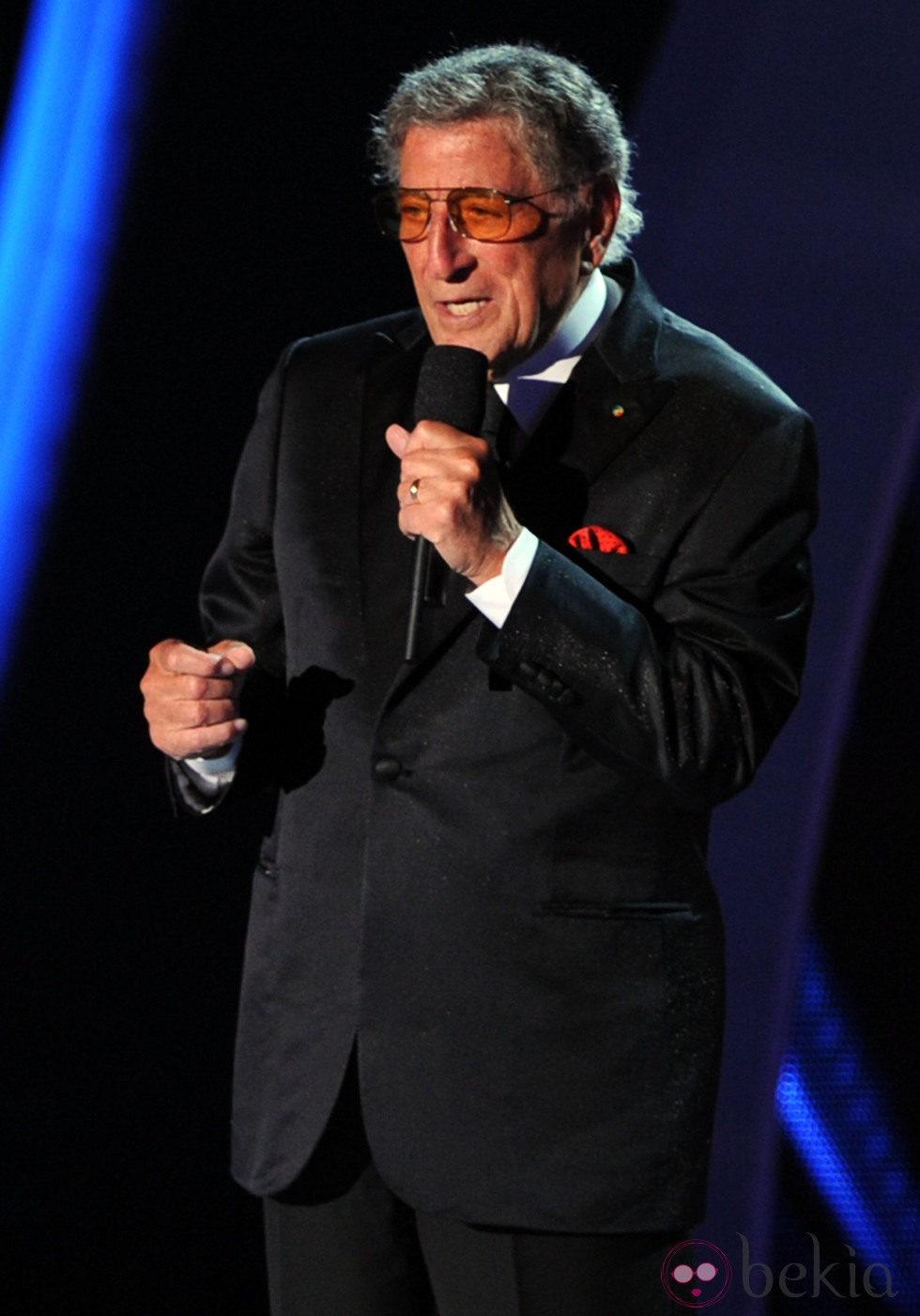 Tony Bennett en la gala de los MTV Video Music Awards 2011