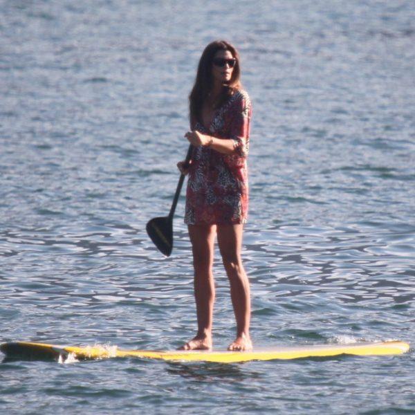Cindy Crawford y George Clooney de vacaciones juntos en el lago Como