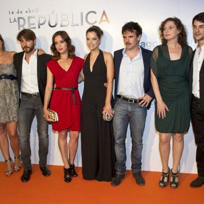Los protagonistas de 'La República' en el estreno de la segunda temporada en el FesTVal