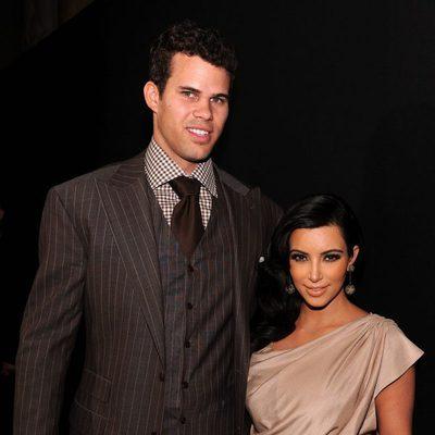 Kim Kardashian y Kris Humphries en su fiesta de recién casados en Nueva York
