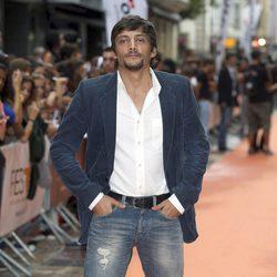 Daniel Holguín en el estreno de 'El corazón del oceáno' en el fesTVal de Vitoria