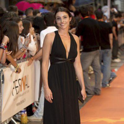 Ingrid Rubio en el estreno de 'El corazón del océano' en el FesTVal de Vitoria