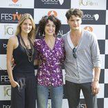 Amaia Salamanca, Adriana Ozores y Yon González presentan 'Gran Hotel' en el FesTVal de Vitoria