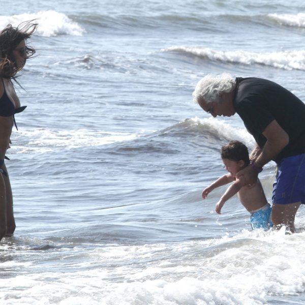 Las vacaciones de Flavio Briatore y Elisabetta Gregoraci en Italia