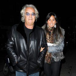 Flavio Briatore y Elisabetta Gregoraci