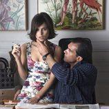 Elena Anaya y Antonio Banderas en una imagen de 'La piel que habito'