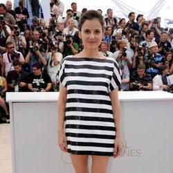 Elena Anaya en la presentación de 'La piel que habito' en Cannes