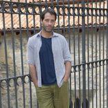 Juan Pablo Shuk en la presentación de la segunda temporada de 'El Barco' en el FesTVal de Vitoria