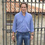 Luis Callejo en la presentación de la segunda temporada de 'El Barco' en el FesTVal de Vitoria