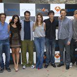Los protagonistas de 'El Barco' presentaron la segunda temporada en el FesTVal de Vitoria