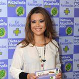 María José Campanario, imagen de la dieta de la alcachofa