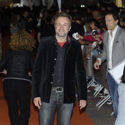 Tristán Ulloa en la clausura del FesTVAl de Vitoria