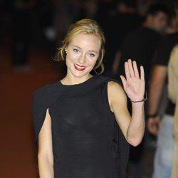 Ángela Cremonte en la clausura del FesTVal de Vitoria