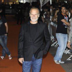 Lluís Homar en la clausura del FesTVal de Vitoria