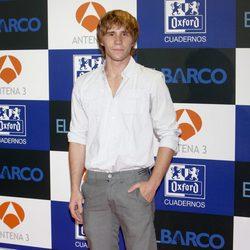 Bernabé Fernández en el estreno de la segunda temporada de 'El barco'