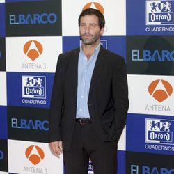 Juan Pablo Shuk en el estreno de la segunda temporada de 'El barco'