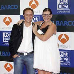 Luis Callejo y Neus Sanz en el estreno de la segunda temporada de 'El barco'