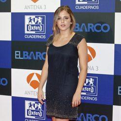 Marina Salas en el estreno de la segunda temporada de 'El barco'