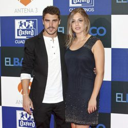 Javier Hernández y Marina Salas en el estreno de la segunda temporada de 'El barco'