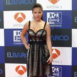 Giselle Calderón en el estreno de la segunda temporada de 'El barco'