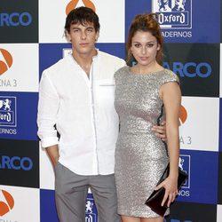 Mario Casas y Blanca Suárez en el estreno de la segunda temporada de 'El barco'