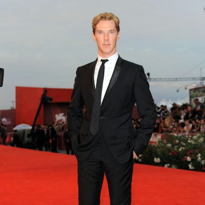 Benedict Cumberbatch en el estreno de 'Tinker, Taylor, Soldier, Spy' en la Mostra de Venecia