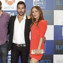David Seijo e Irene Montalá en el estreno de la segunda temporada de 'El barco'