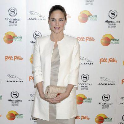 Genoveva Casanova en la entrega de los Premios Naranja y Limón 2013