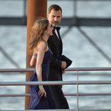 Los Príncipes Felipe y Letizia en la cena de gala por la coronación de Guillermo Alejandro de Holanda