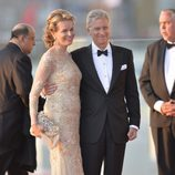 Felipe y Matilde de Bélgica en la cena de gala por la coronación de Guillermo Alejandro de Holanda