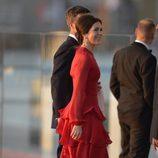 Los Príncipes de Dinamarca en la cena de gala por la coronación de Guillermo Alejandro de Holanda