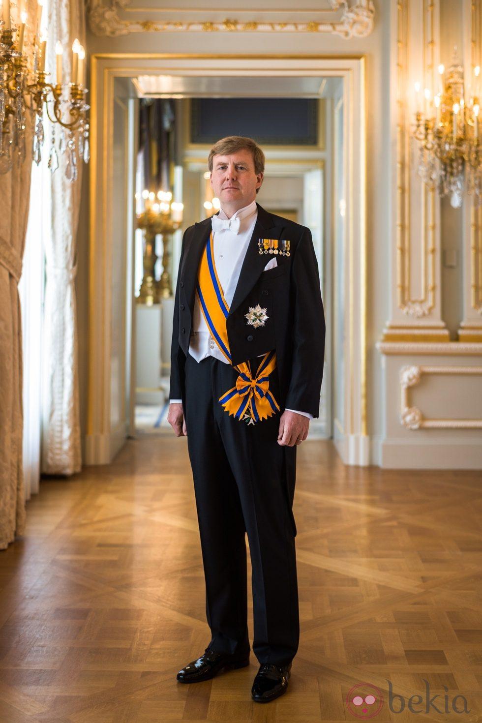 Primer retrato oficial del Rey Guillermo Alejandro de Holanda