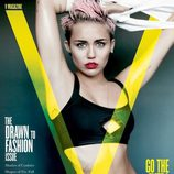 Miley Cyrus muy sexy con un bikini negro