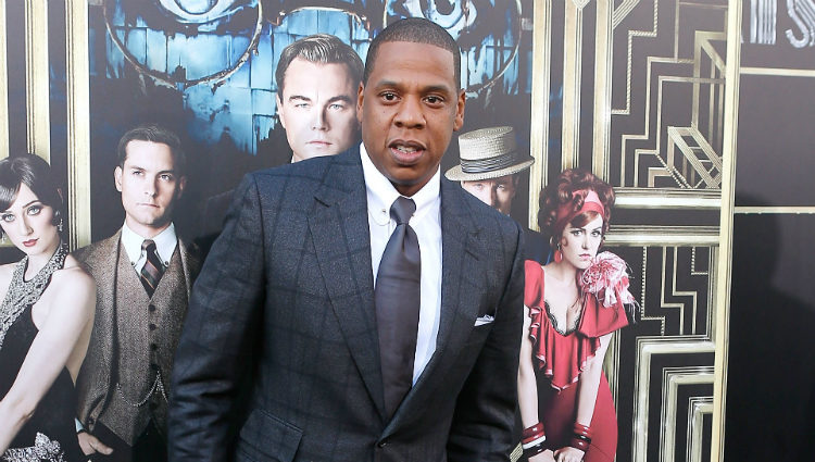 Jay-Z en la premiere en Nueva York de 'El gran Gatsby'