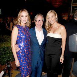 Tommy Hilfiger, Dee Hilfiger y Jamie Tischen en la 16ª gala de Investigación del Cáncer de Mujeres