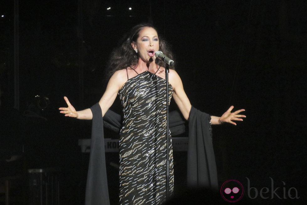 Primer concierto de Isabel Pantoja tras ser condenada a dos años de cárcel
