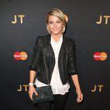 Julianne Hough en el concierto de Justin Timberlake en el Roseland Ballroom de Nueva York