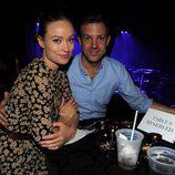 Olivia Wilde y Jason Sudeikis en el concierto de Justin Timberlake en el Roseland Ballroom de Nueva York