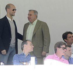 Gonzalo Miró y Fernando Fitz-James Stuart en el Concurso de Saltos de Madrid 2013