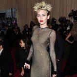 Miley Cyrus en la Gala del MET 2013
