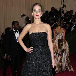 Jennifer Lawrence en la Gala del MET 2013