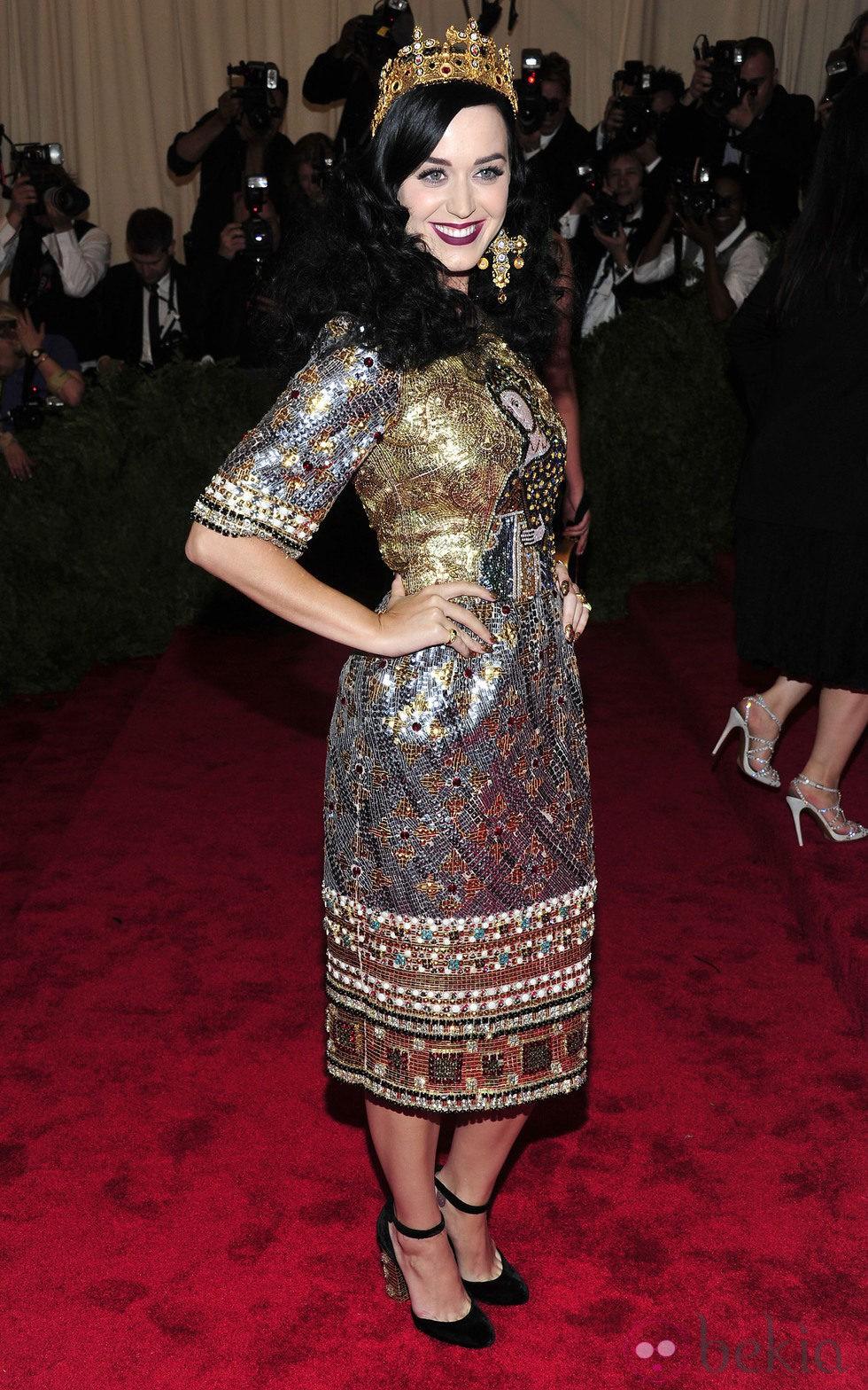Katy Perry en la Gala del MET 2013