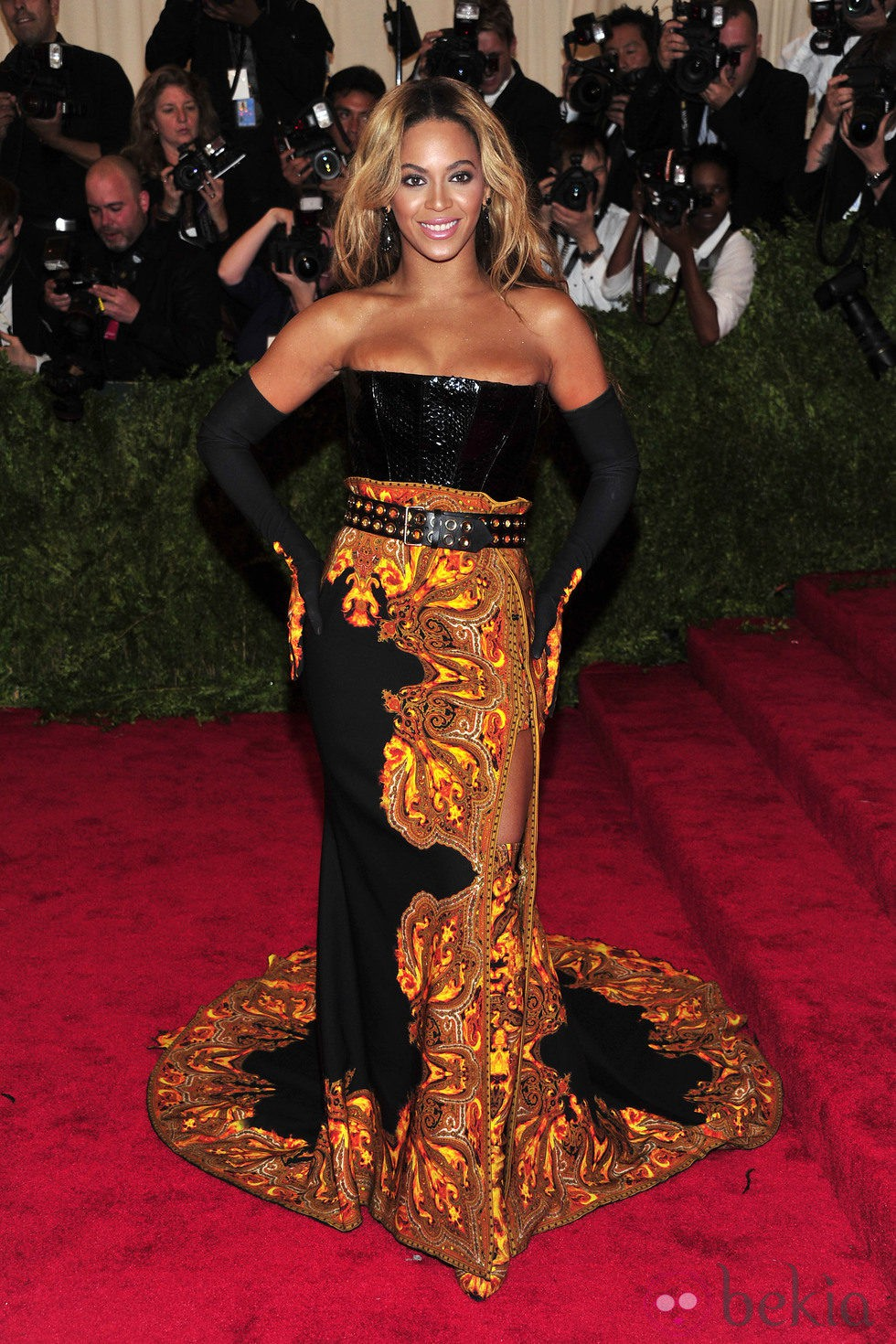 Beyoncé en la Gala del MET 2013