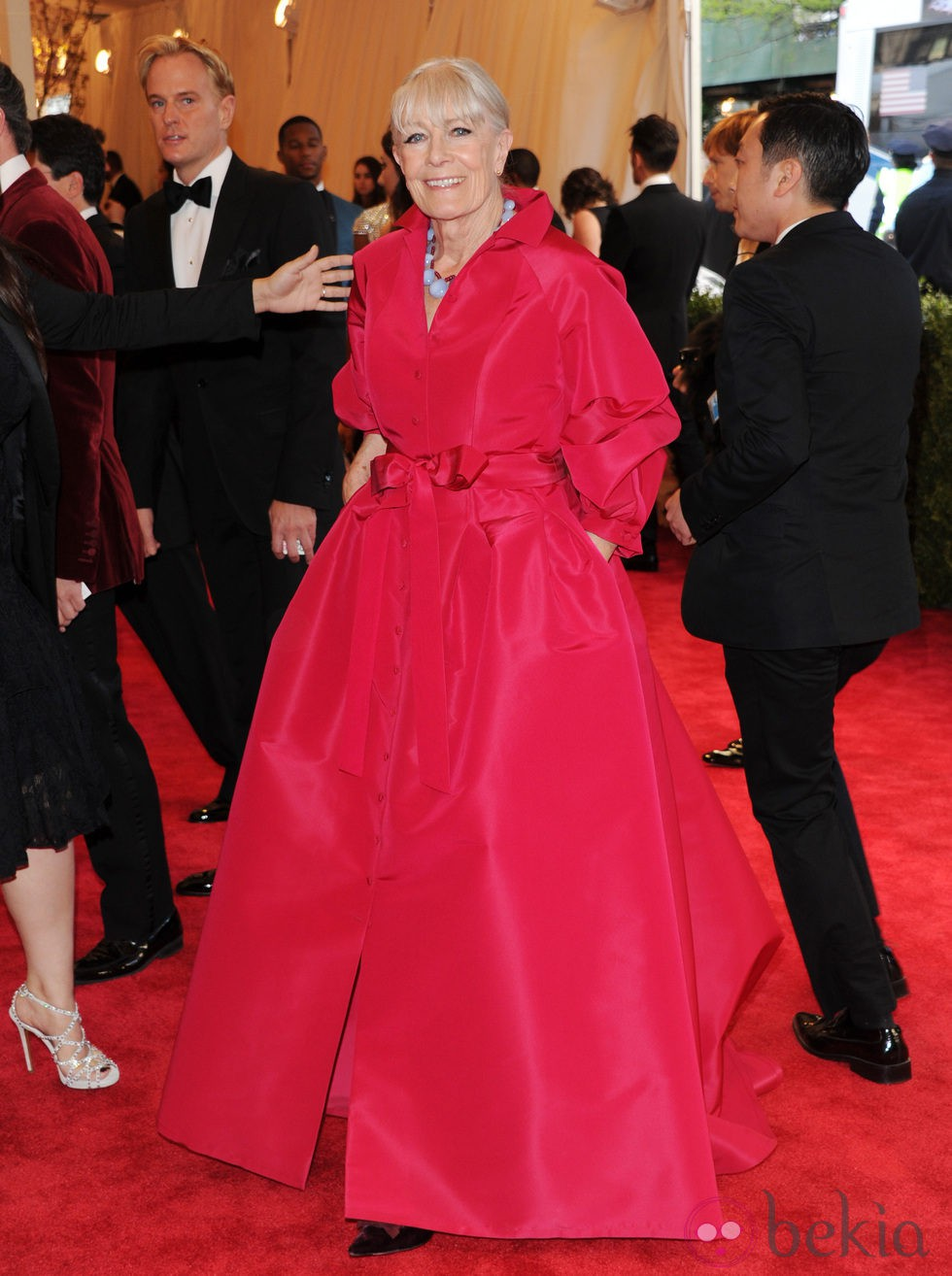 Vanessa Redgrave en la Gala del MET 2013