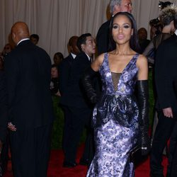 Kerry Washington en la Gala del MET 2013