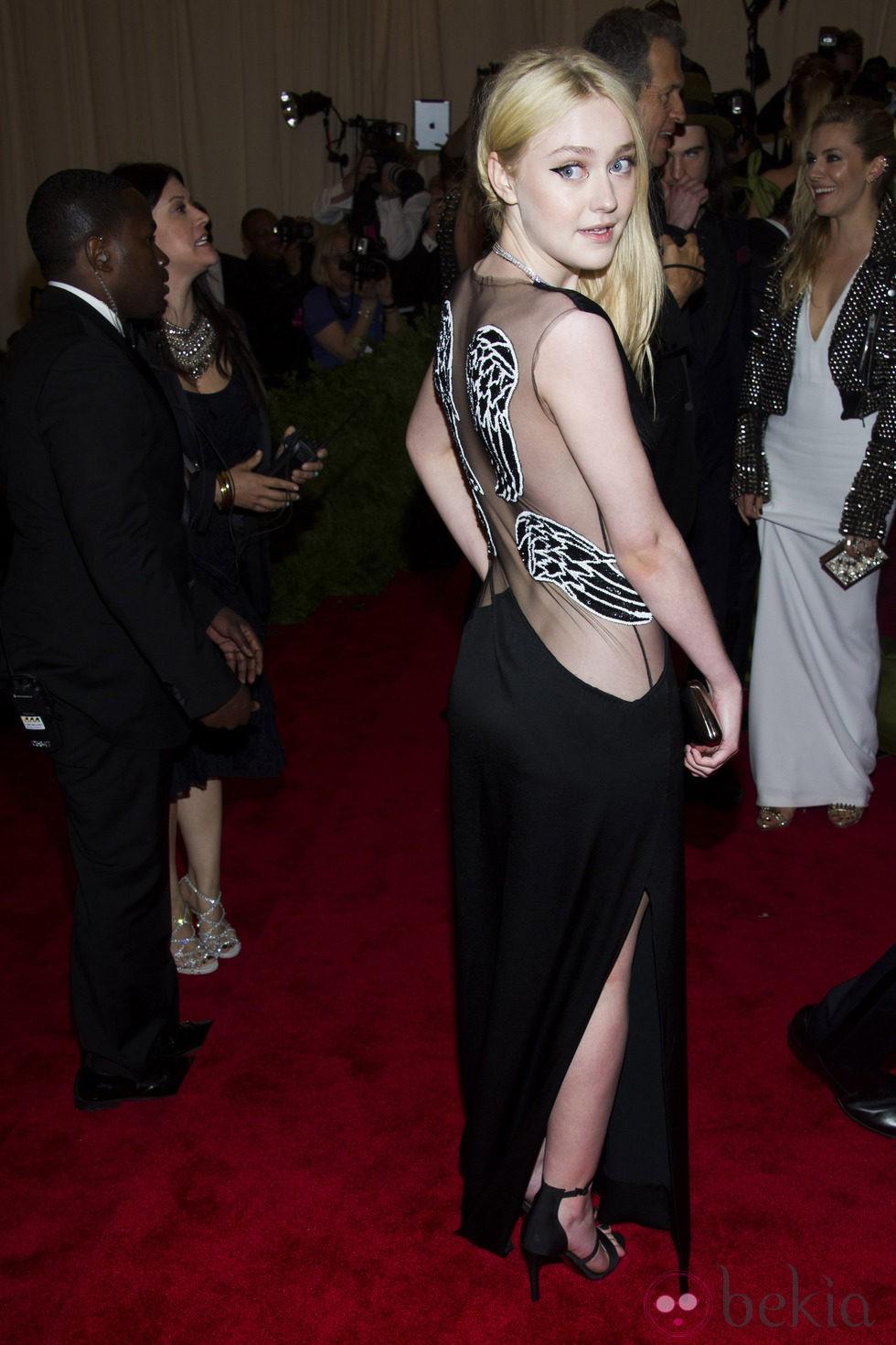 Dakota Fanning en la Gala del MET 2013
